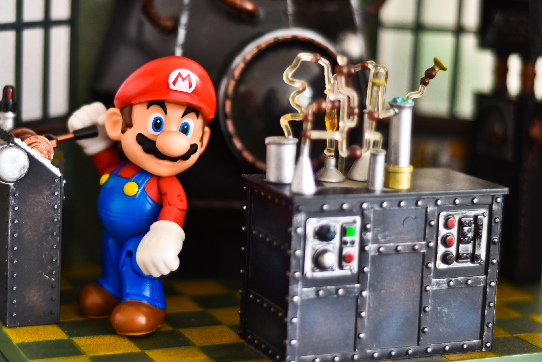Super Mario's Occupations Over Time, WhitePreGifts, whitepregifts.com