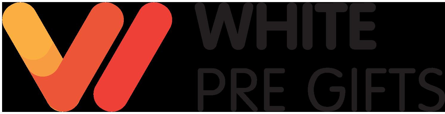 WhitePreGifts Logo, whitepregifts.com