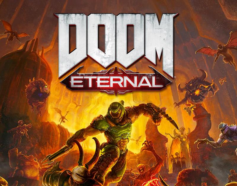DOOM Eternal Standard Edition (Xbox One), WhitePreGifts, whitepregifts.com