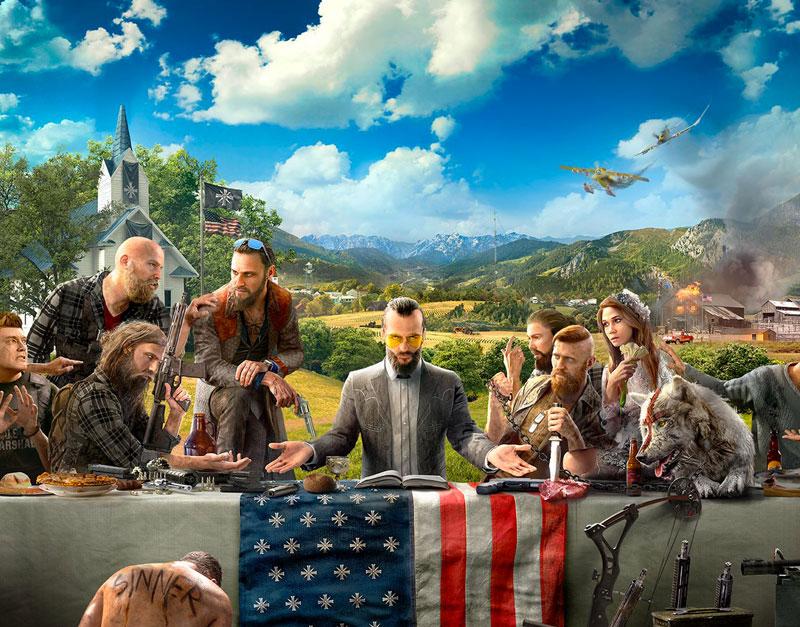 Far Cry 5 - Gold Edition (Xbox One), WhitePreGifts, whitepregifts.com