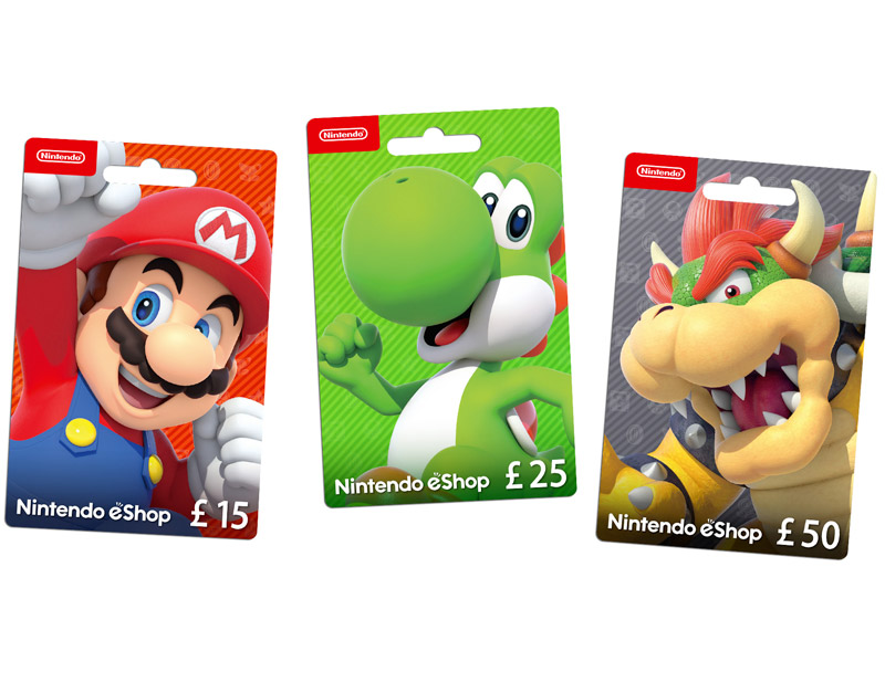 Nintendo eShop Gift Card, WhitePreGifts, whitepregifts.com