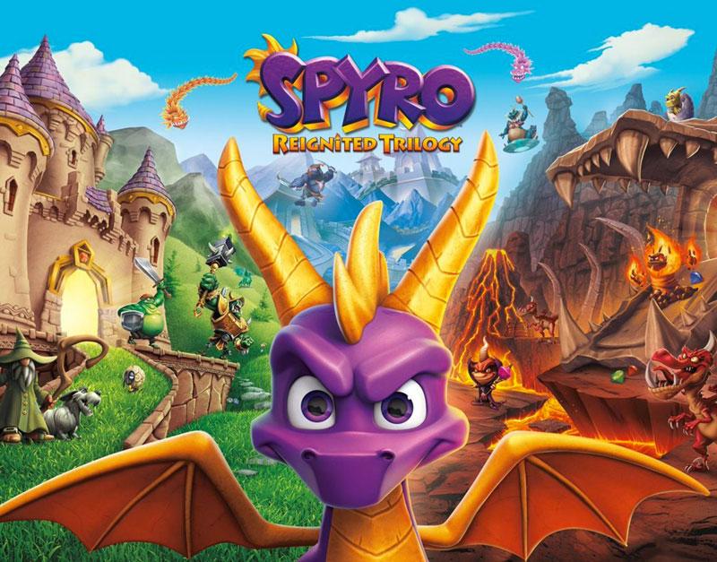 Spyro Reignited Trilogy (Xbox One), WhitePreGifts, whitepregifts.com