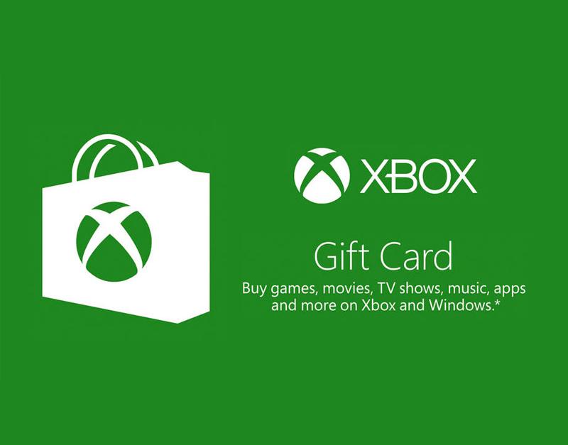 Xbox Live Gift Card, WhitePreGifts, whitepregifts.com